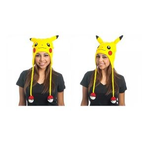 Pokémon Pikachu Laplander Hat Yellow